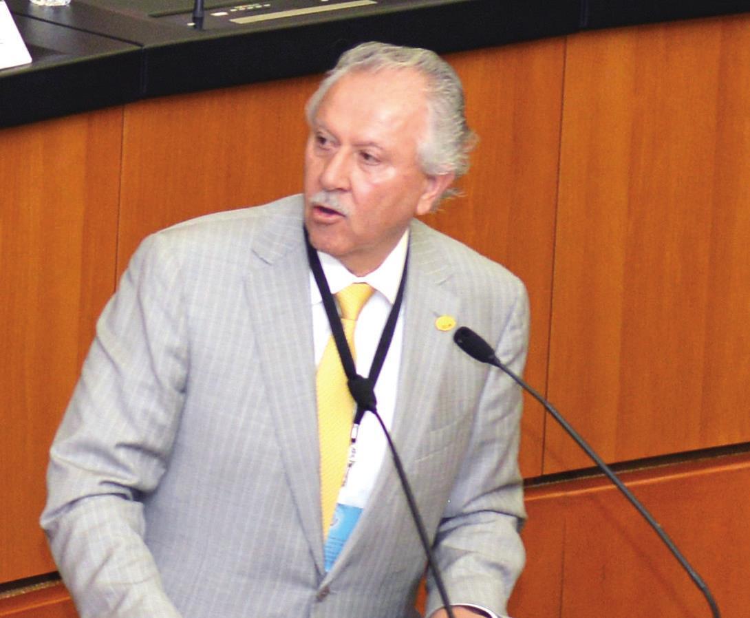 Elías Dip, Presidente de la Confederación Nacional de Transportistas Mexicanos.