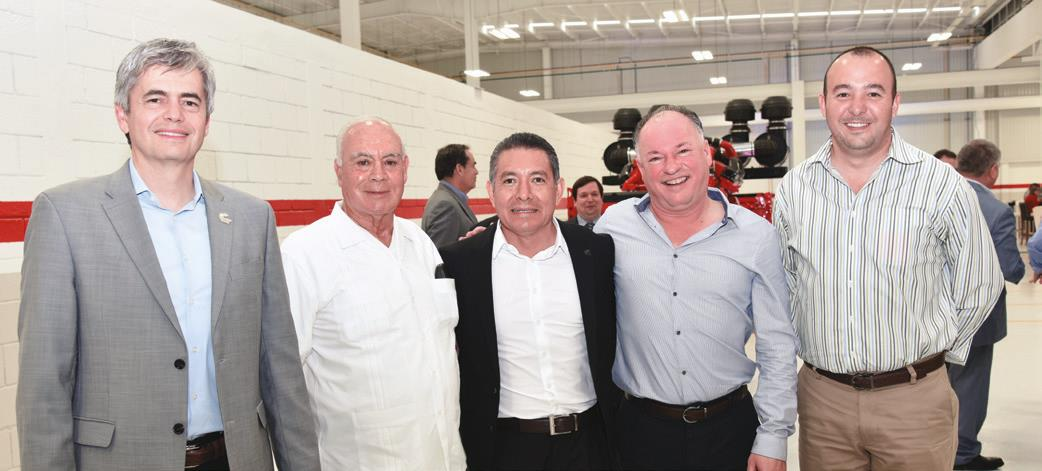 Didier Gil, Carlos Raúl González, Xavier Hernández, Rolando Leal y Mauricio Güereca.