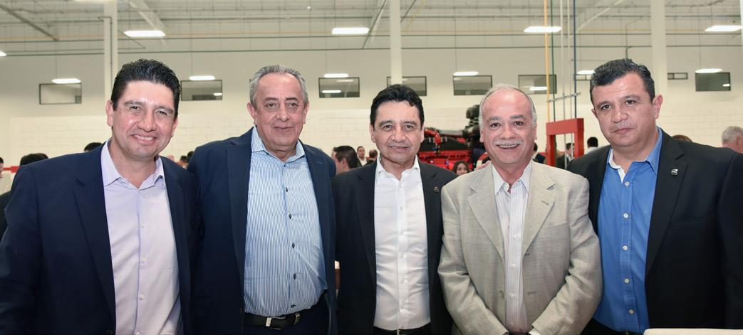 Omar Hernández, Mariano Ochoa, Raúl Hernández, Ricardo Franco y Sergio Lechuga.