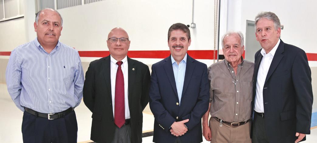 Juan Menchaca, Ignacio García, Jorge Casares, Jorge Cárdenas y Alberto Drucker.