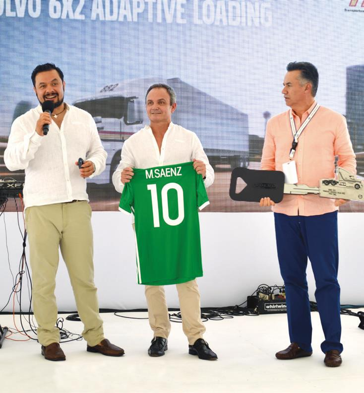 José Gutiérrez, Martín Sáenz y Raúl Monrroy.